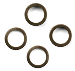 KYOW0149GM Kyosho Aluminum collar 5x7x1mm Gunmetal - Package of 2