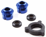 KYOW5303-04BL Kyosho Big Bore Triple Cap Shock Seal Cartridges Blue Aluminum - Package of 2