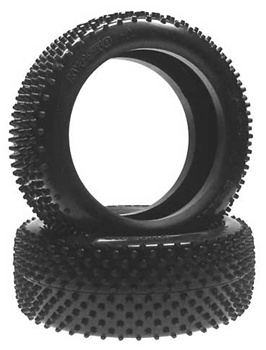 KYOW5651H Kyosho 1/8th Scale Super Multi Pin Tire Hard Compound - Package of 2
